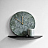 Menu Marble Wall Clock Dark Norm