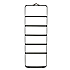 Menu Towel Ladder Black Dark Oak
