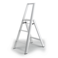 Lucano White 3 step Ladder