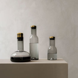 menu carafe and decanter