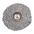 Chilewhich Dahlia Tablemats black