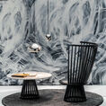 Tom Dixon Flash Table and Fan Chair