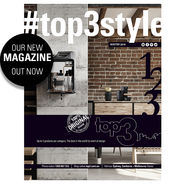 NEW TOP3 Magazine #top3style WINTER 2018 news from top3 by design