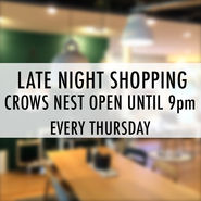 Late Night Trading at Crows Nest news from top3 by design