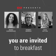 you are invited | inspiring networking breakfast news from top3 by design