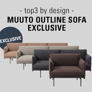 Muuto Outline Sofa | top3 Exclusive version news from top3 by design