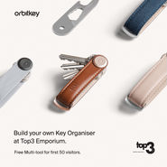 VIP night | Build your own Orbitkey | Friday 14th December 5-9pm news from top3 by design
