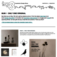 MUM  |  ONLY ONE ORIGINAL news from top3 by design