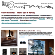 Sunday Inspiration  |  Cabin Norderhov  |  Atelier Oslo  |  Norway news from top3 by design