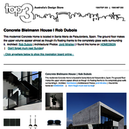 Sunday Inspiration  |  Concrete Bielmann House  |  Rob Dubois news from top3 by design