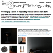 Saturday Inspiration  |  Cooking up a storm news from top3 by design
