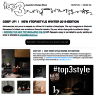 Sunday Inspiration | COSY UP! news from top3 by design