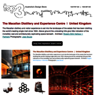 Sunday Inspiration  |  The Macallan Distillery news from top3 by design