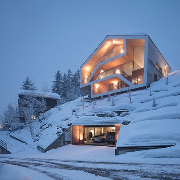 Sunday Inspiration  |  Ski Chalet  |  Valais, Switzerland news from top3 by design