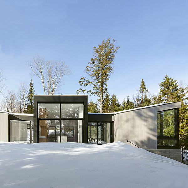 Sunday Inspiration  |  Triptych Lakeside Retreat  |  Canada news from top3 by design