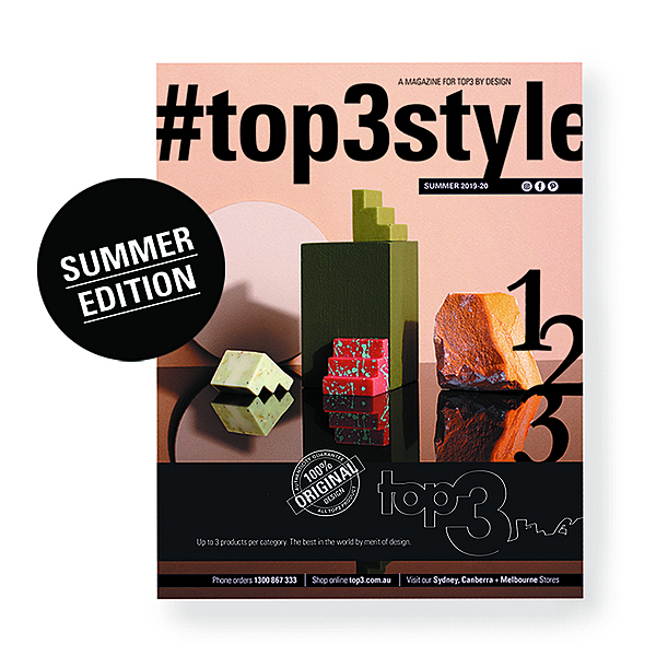 NEW MAGAZINE OUT NOW! news from top3 by design