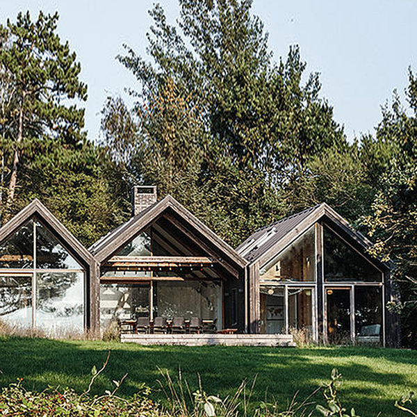 Sunday Inspiration  |  Holiday Cabin  |  Denmark news from top3 by design