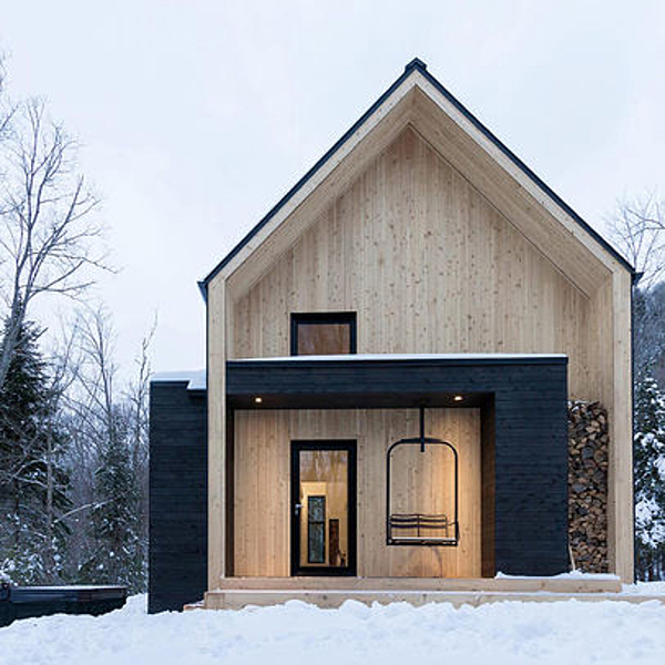 Sunday Inspiration  |  Villa Boréale  |  Quebec news from top3 by design
