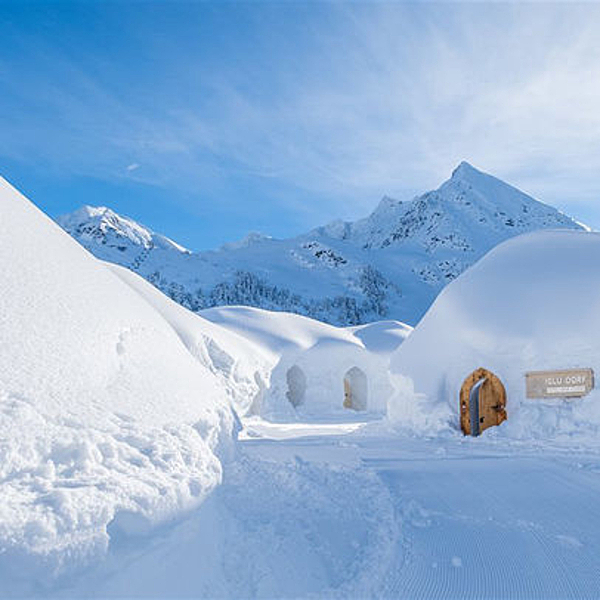 Sunday Inspiration  |  Igludorf  |  An igloo in Kühtai, Austria news from top3 by design