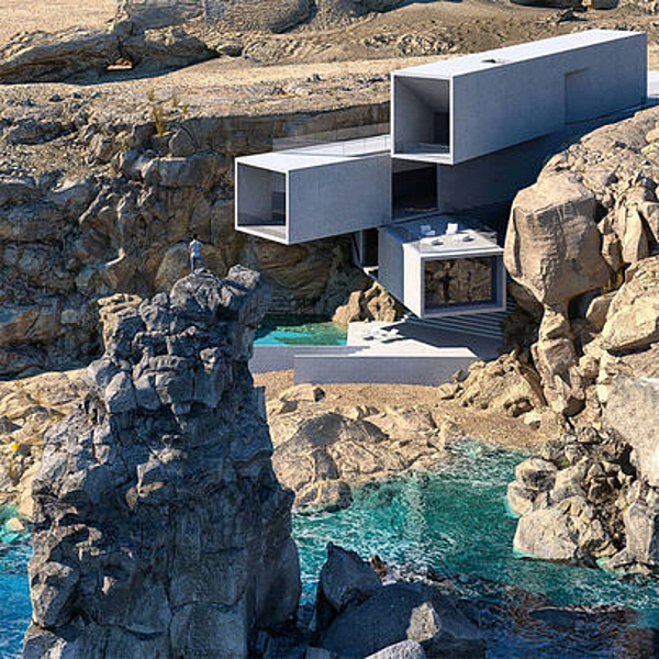 Sunday Inspiration  |  Cliff House  |  Lanzarote   |  Canary Islands news from top3 by design