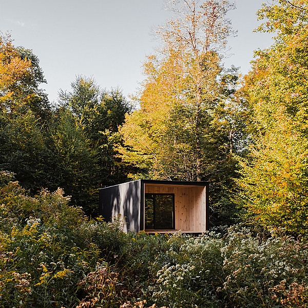Sunday Inspiration  |  Ediface off-the-grid cabin  |  Upstate NY news from top3 by design