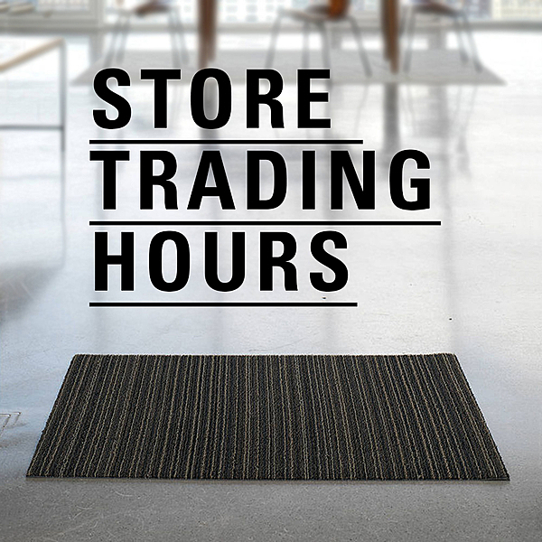 STORE TRADING HOURS | COVID-19 news from top3 by design