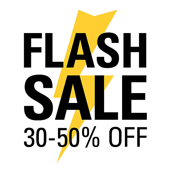 FLASH SALE ON NOW  |  30-50% OFF  |  ENDS MONDAY news from top3 by design