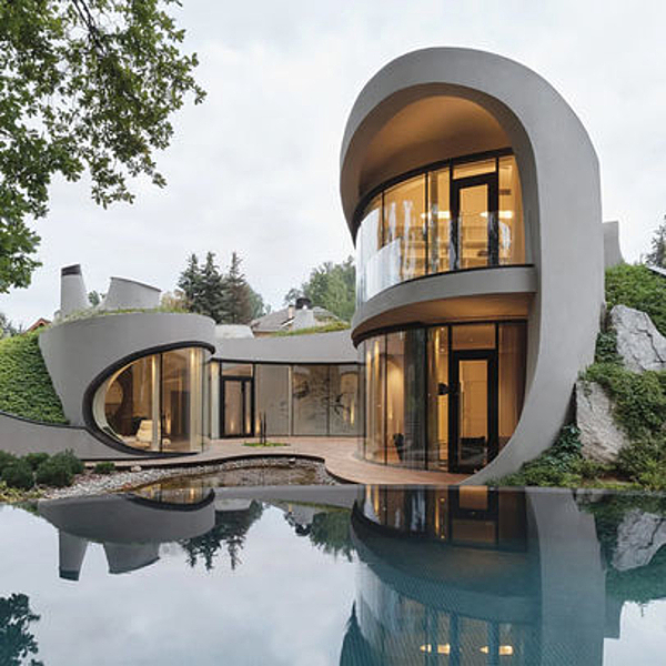 Sunday Inspiration  |  ​House in the Landscape  |  Moscow, Russia news from top3 by design