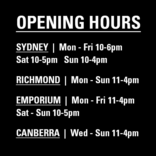 OPENING HOURS news from top3 by design