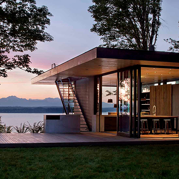 Sunday Inspiration  |  Case Inlet Retreat  |  Washington State news from top3 by design