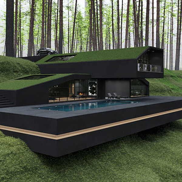 Sunday Inspiration  | The Black Villa  |  New York news from top3 by design