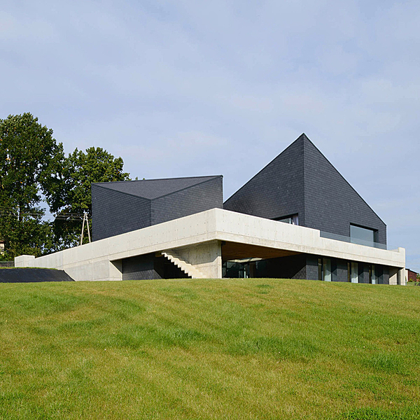 Sunday Inspiration  |  House in Krostoszowice  |  Poland news from top3 by design