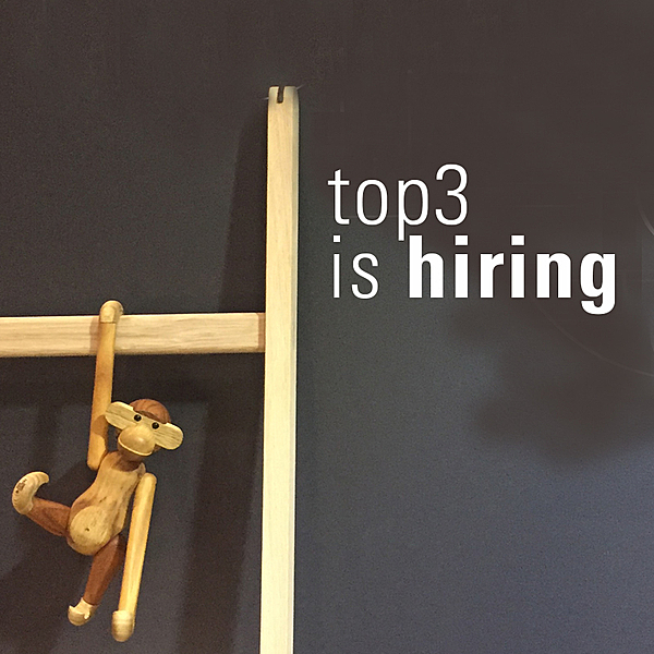 Top3 IS HIRING - SYDNEY news from top3 by design