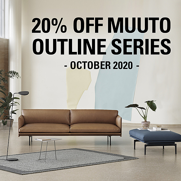 20% OFF MUUTO OUTLINE SERIES news from top3 by design