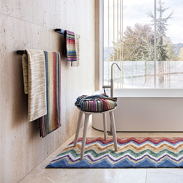 NEW MISSONI HOME 2021 BATH COLLECTION news from top3 by design