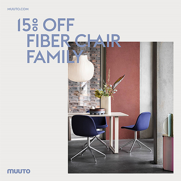 MUUTO FIBER CHAIR OFFER news from top3 by design