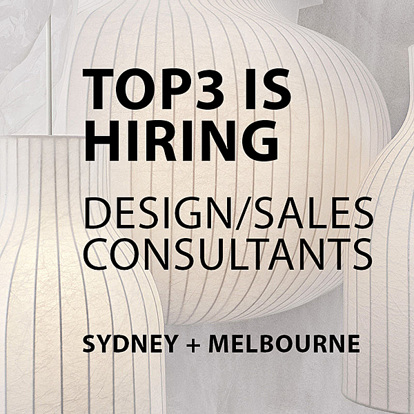 Top3 IS HIRING - MELB + SYD news from top3 by design