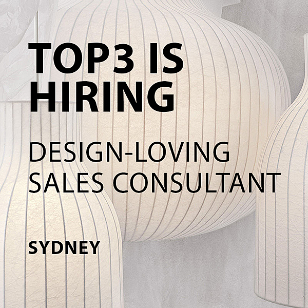 HIRING - Sales Consultant - Sydney news from top3 by design